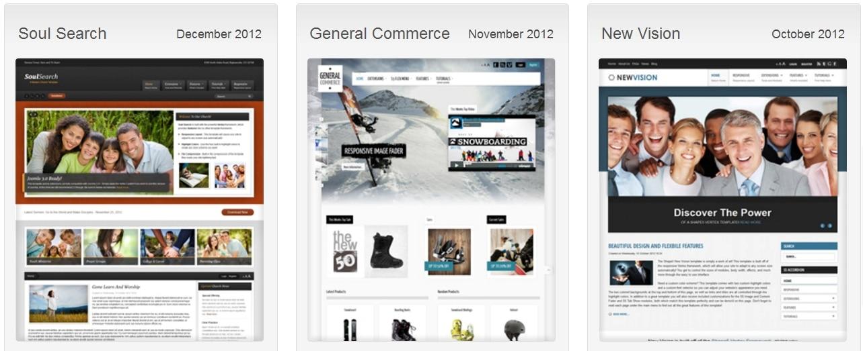 themes website premium